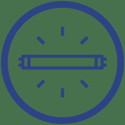 UVc germicidní lampy